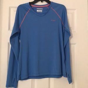 Columbia PFG Tamiami Heather Knit Long Sleeve Top.